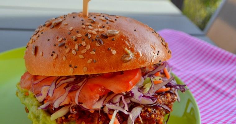 Hamburger di miglio di sorgo – vegano e senza glutine