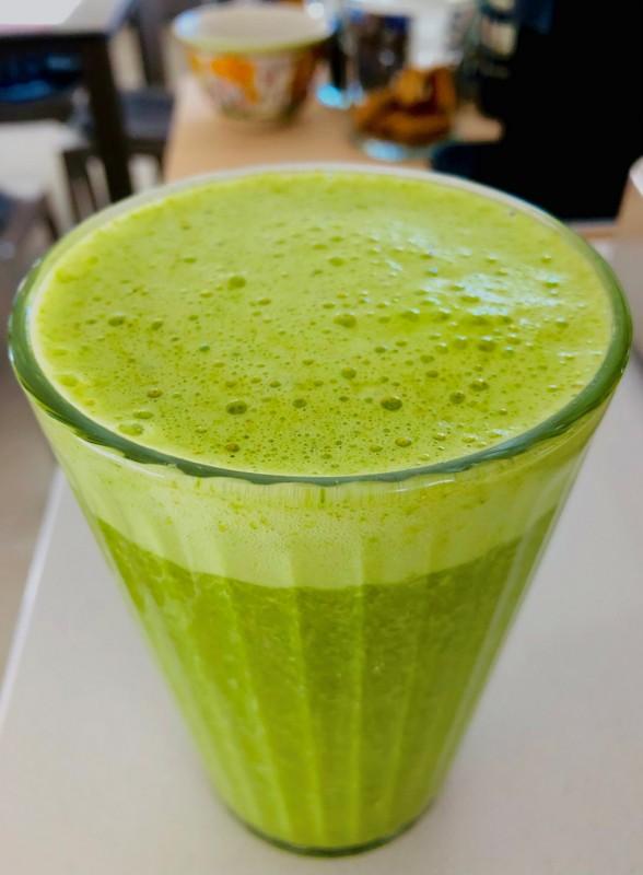 Smoothie verde disintossicante