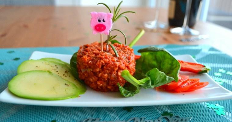 Silvester – Tartar vegan und glutenfrei!