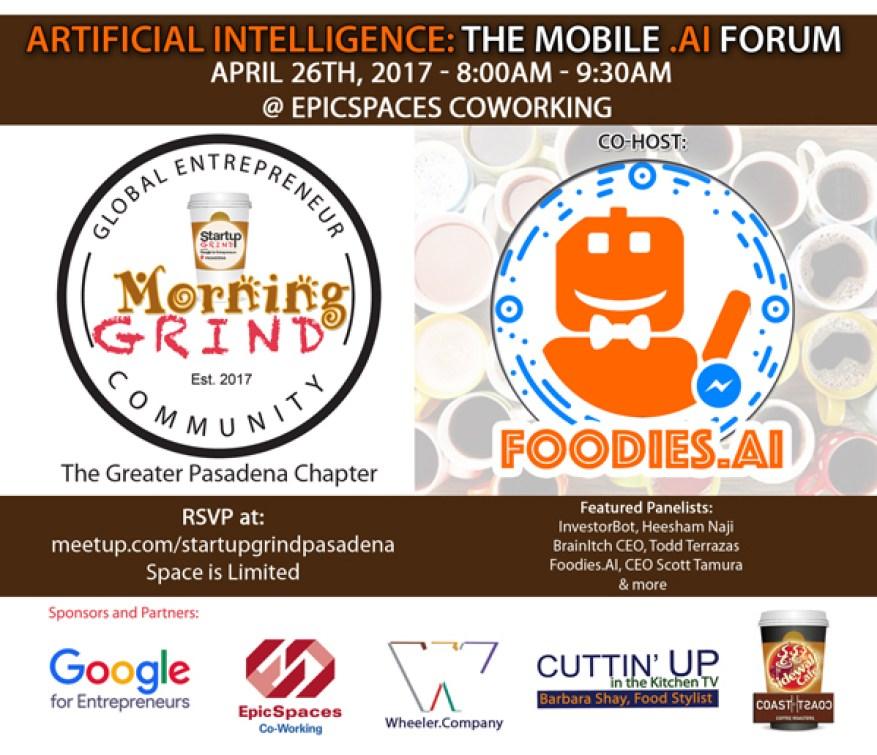 Startup Grind Morning Grind AI/Chatbot Forum