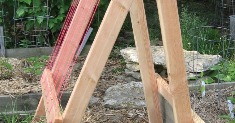Grow Vertical With This DIY A-Frame