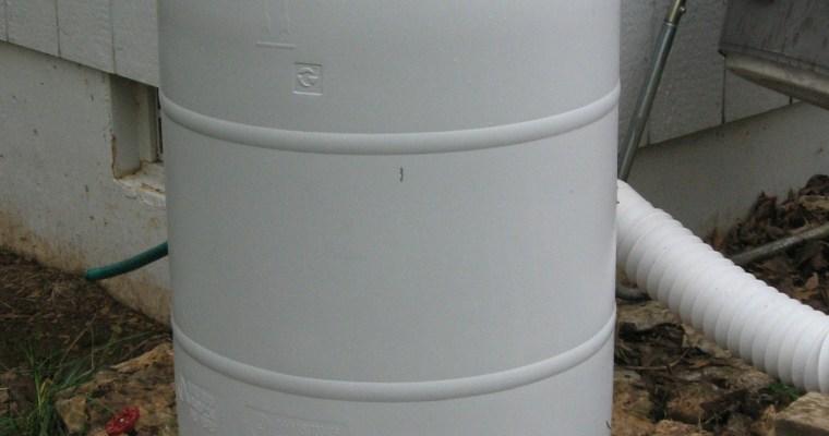 Rain Barrel Lessons: Paint and Drain