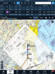 For greater situational awareness Inflight, use ForeFlight to cross-check your aircraft position overlaid on the procedure.