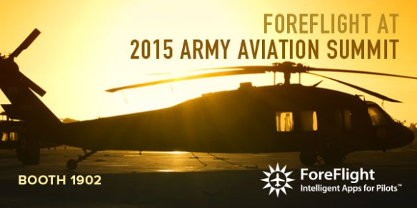 ForeFlight at Army Aviation Summit.
