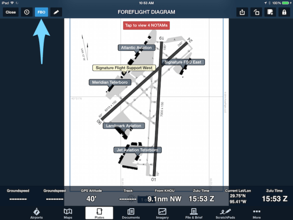 Turn FBO overlay on or off in the Plates view.