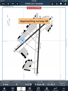 Ownship depiction with runway proximity advisor.