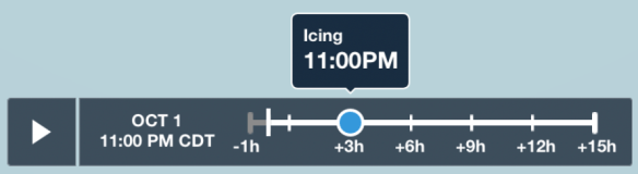 Weather Layer Time Slider