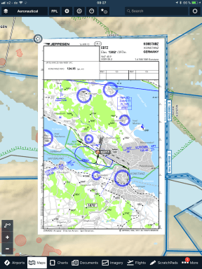 ForeFlight-map-with-Jeppesen-VFR-procedure