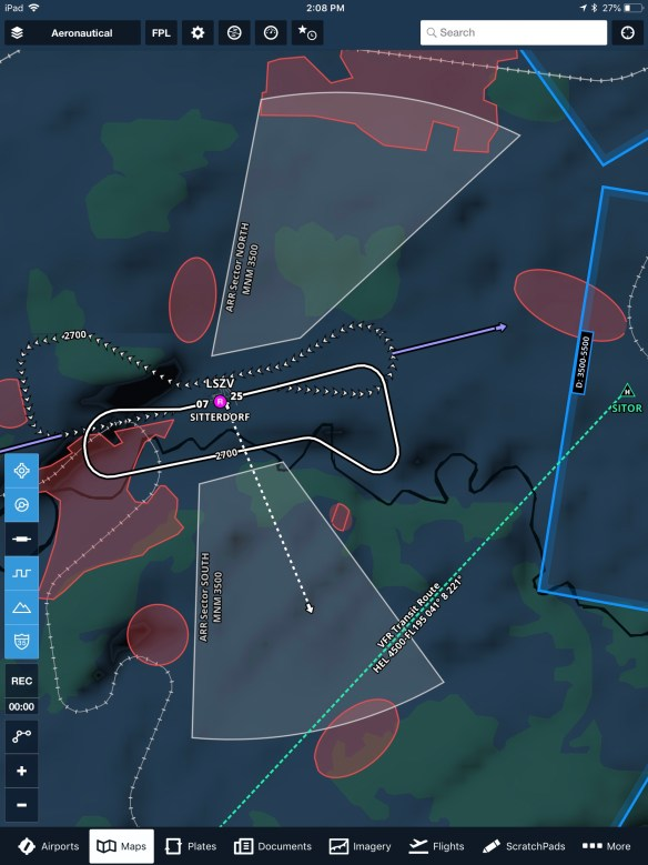 A number of different VFR features are now depicted on the Aeronautical Map