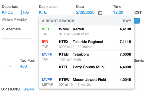 airport-weather-search
