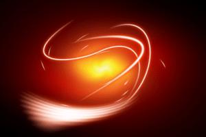Fiery Swirl