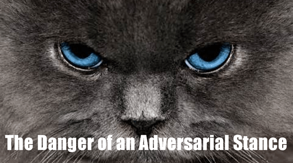 The Danger of an Adversarial Stance