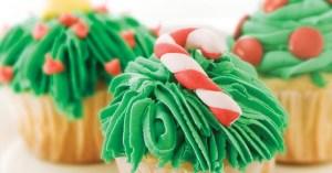 5 ideas de decoración para cupcakes navideños 4