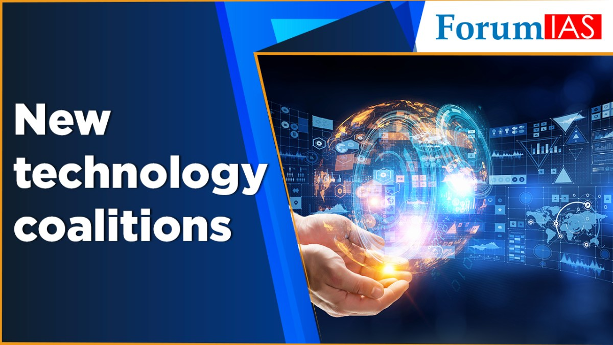 New technology coalitions