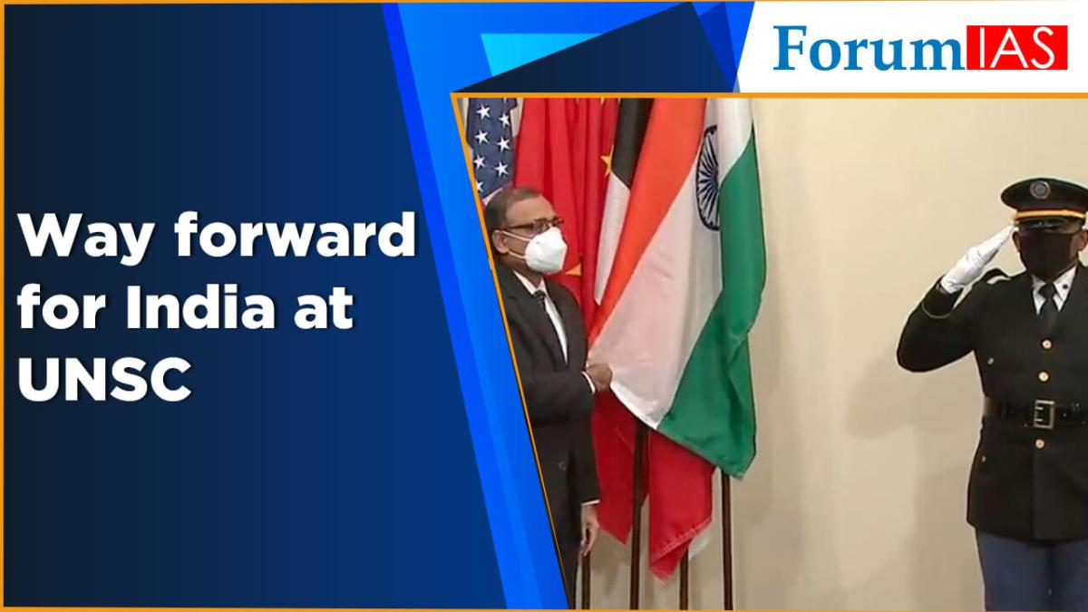 Way forward for India at UNSC