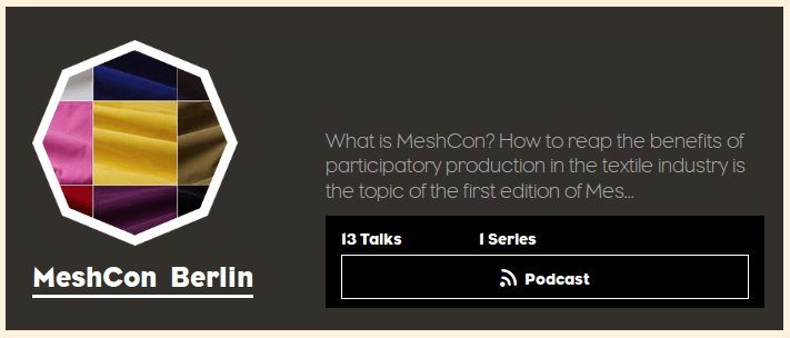 MeshCon Podcasts