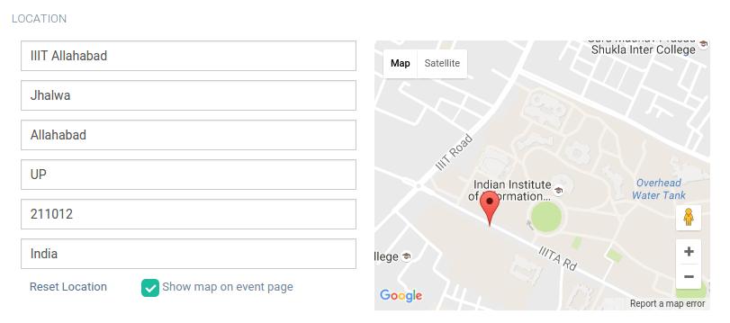 Autocomplete Address Form using Google Map API