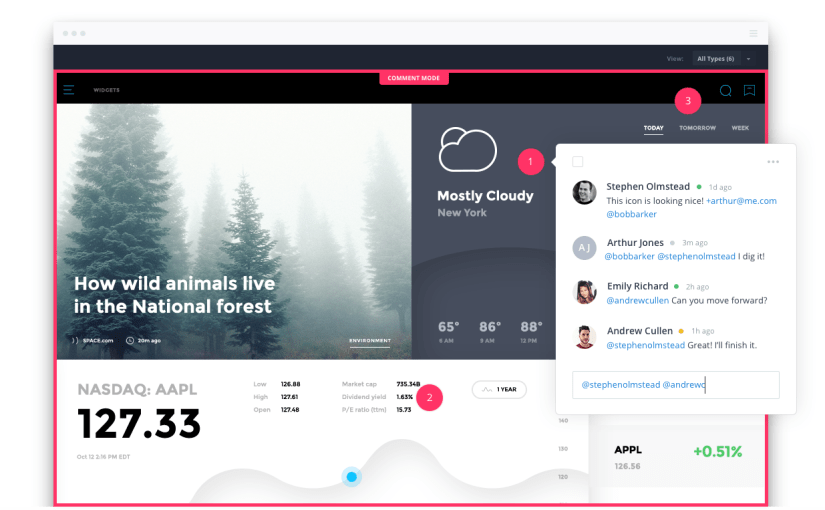 Prototyping Android Apps using Invision