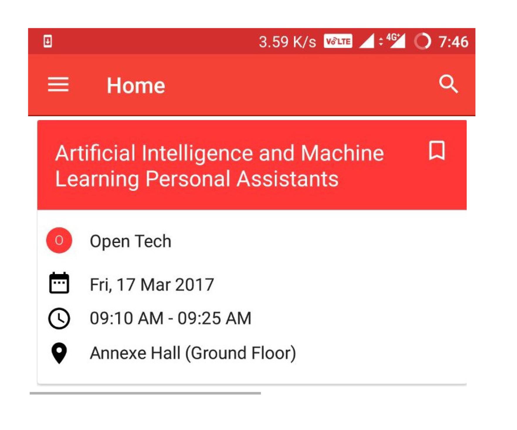 RecyclerView | blog fossasia org - Part 2