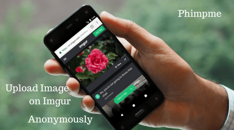Upload Image to Imgur Anonymously Using Volley in Phimpme Android app