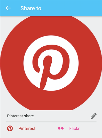 Adding Pinterest Integration in Phimpme Android