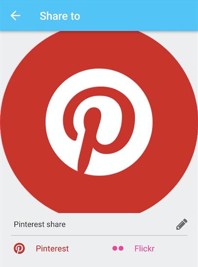Adding Pinterest Integration in Phimpme Android