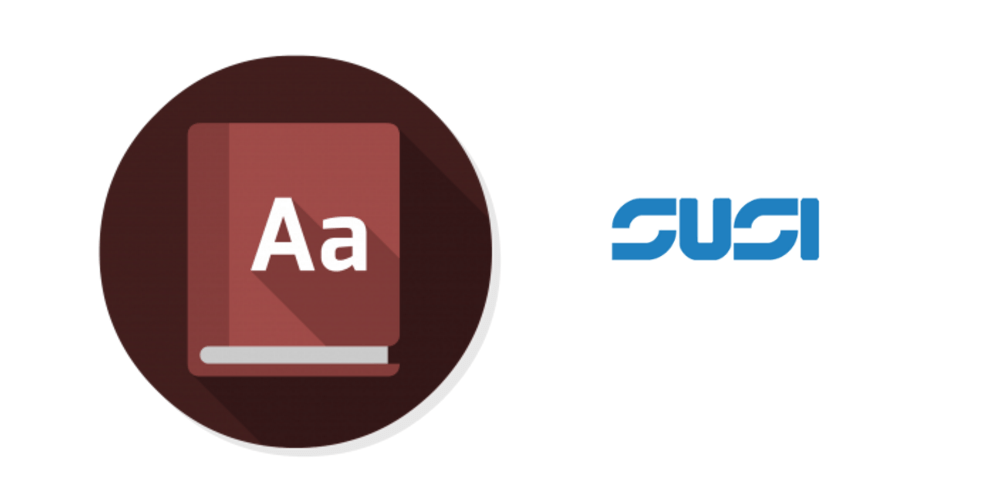 Using SUSI as your dictionary