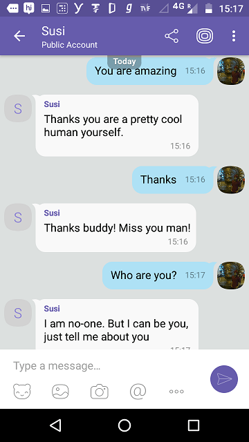 Deploy SUSI AI to Viber messenger