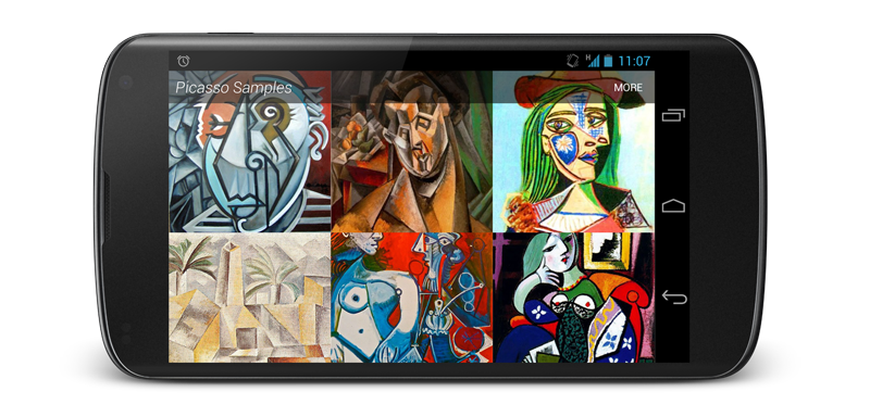 Using Picasso to Show Images in SUSI Android