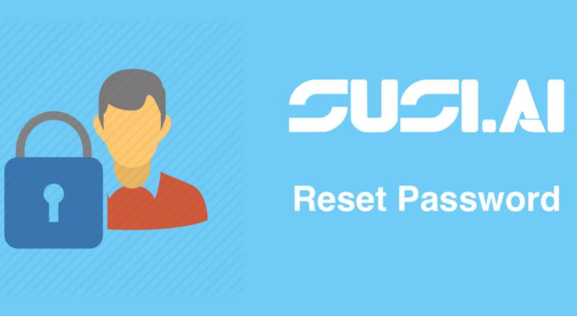 Reset Password Functionality in SUSI iOS