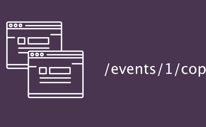 Copying Event in Open Event API Server