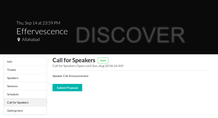 Implementing Speakers Call API in Open Event Frontend