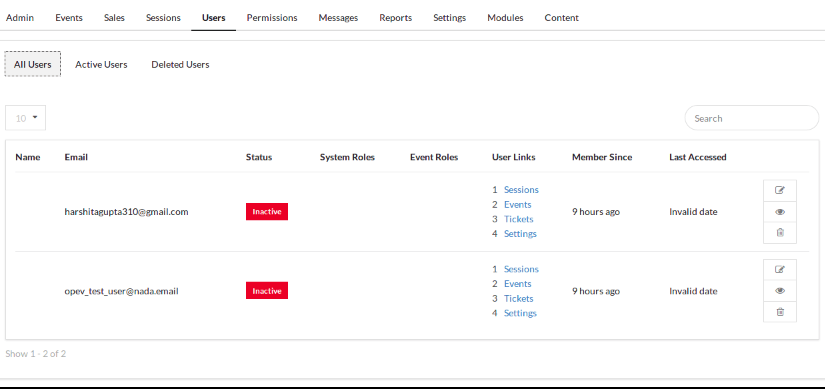Implementing Users API to Display the Users at Admin Route in Open Event Frontend