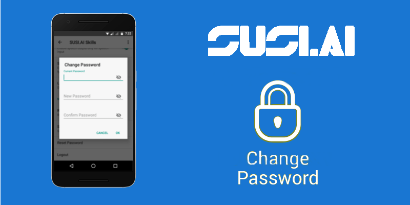Implementing Change Password Feature in SUSI Android App using Custom Dialogs