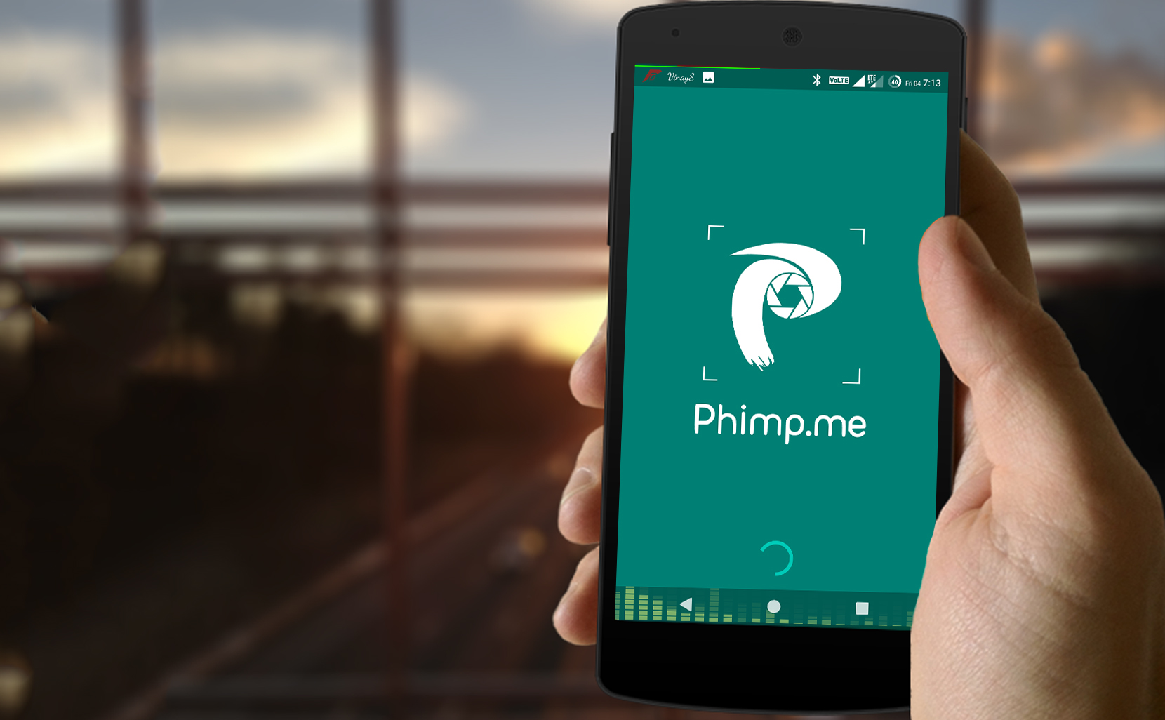 Displaying an Animated Image in Splash Screen of Phimpme Android