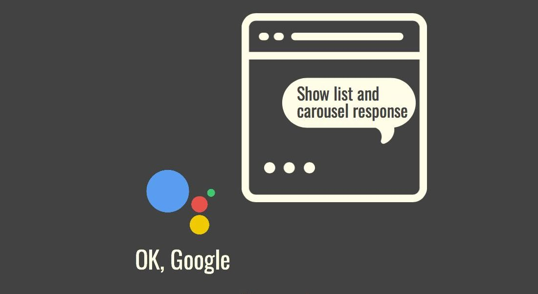 Implementing Rich Responses in SUSI Action on Google Assistant
