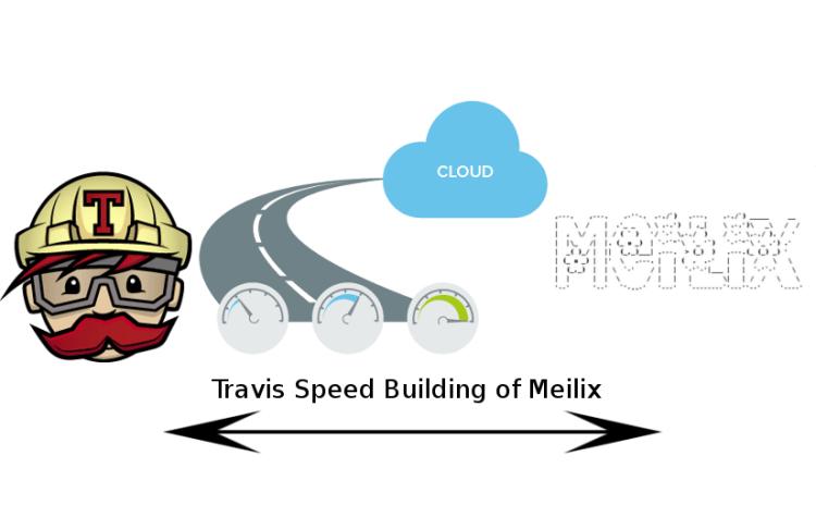 Shorten the Travis build time of Meilix
