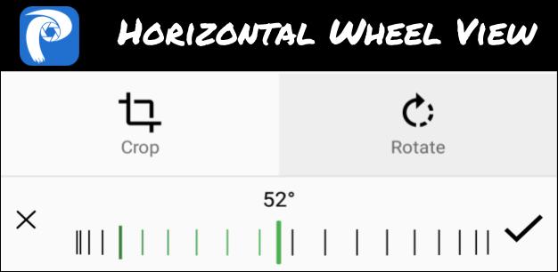Enhancing Rotation in Phimp.me using Horizontal Wheel View