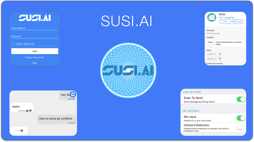 Creating Onboarding Screens for SUSI iOS