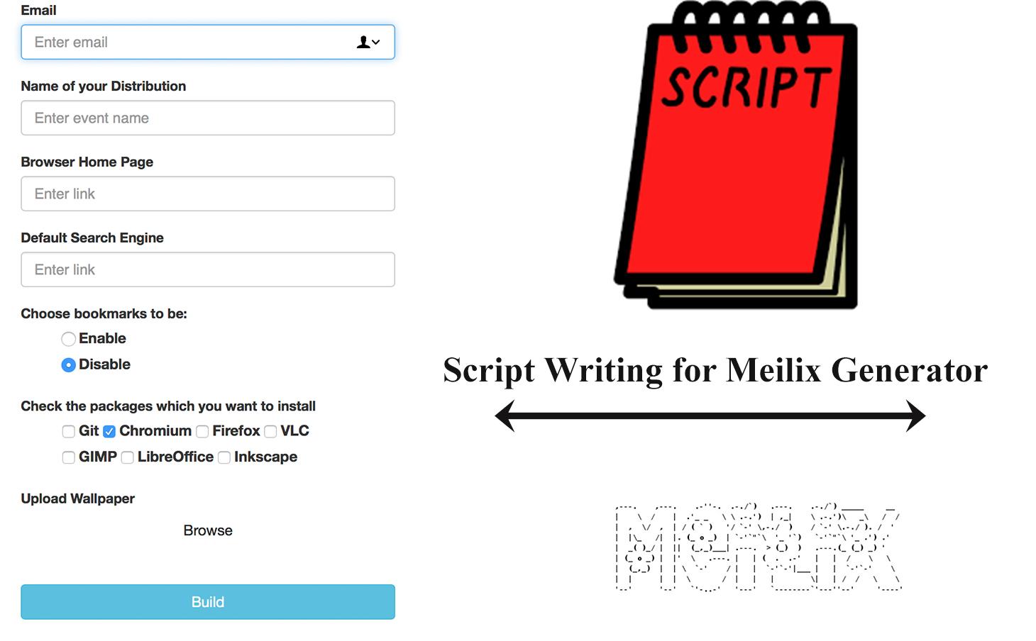 Adding Features into Meilix Generator Webapp
