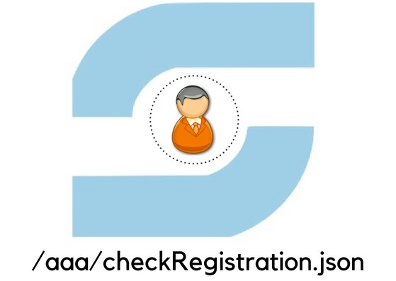 Make an API to check if an email address has been registered for SUSI.AI