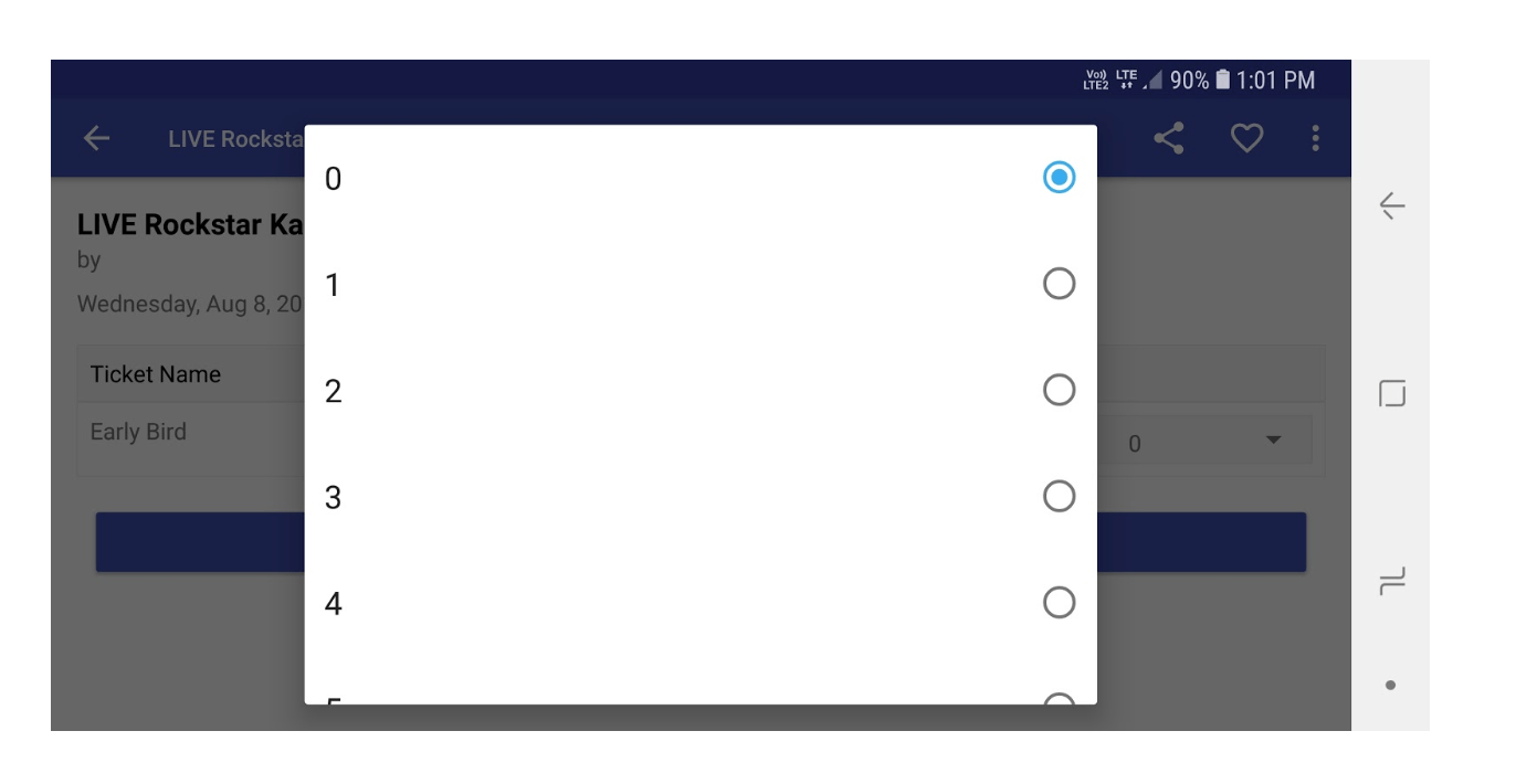 Adding Multiple Attendees inside an Order in Open Event Android