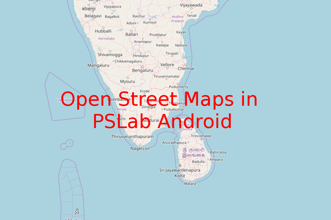 Adding Open Street Maps to PSLab Android