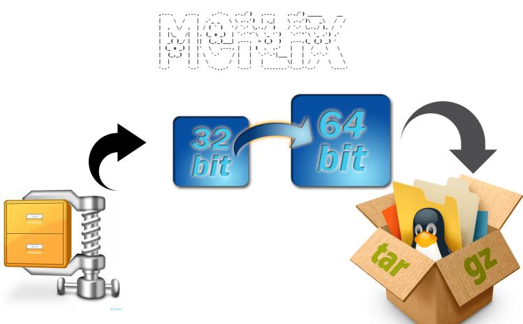 Building 64 bit lzma file