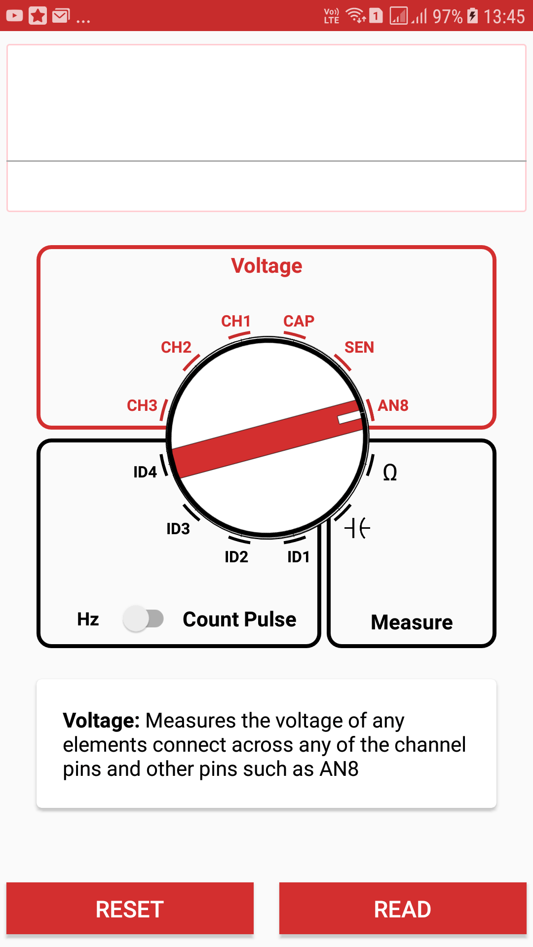 Implementing Custom Rotary Knobs and Circular Positioning in the Multimeter in the PSLab Android App