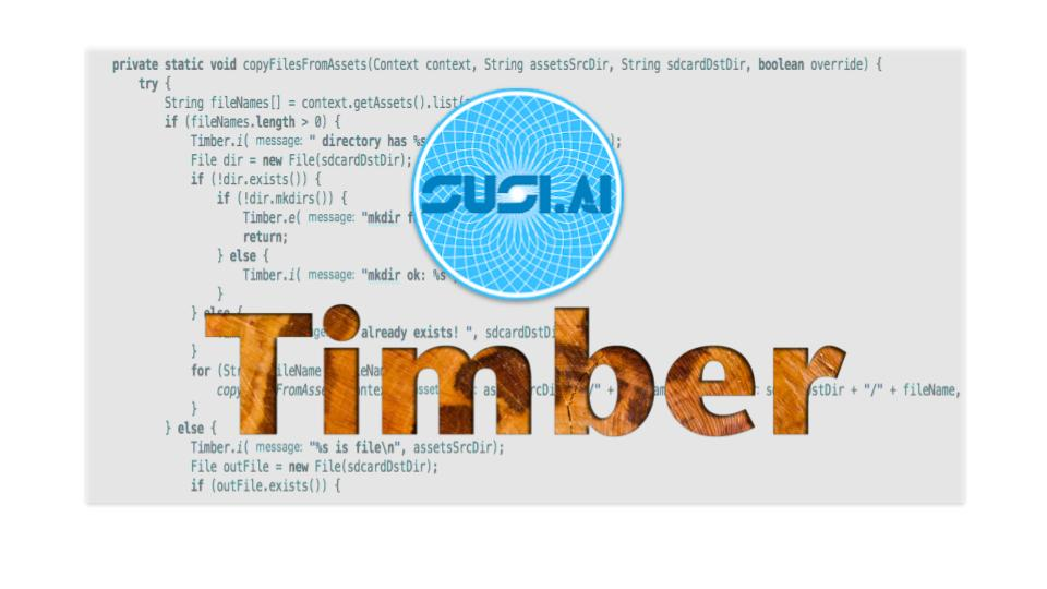Use Timber for Logging in SUSI.AI Android App