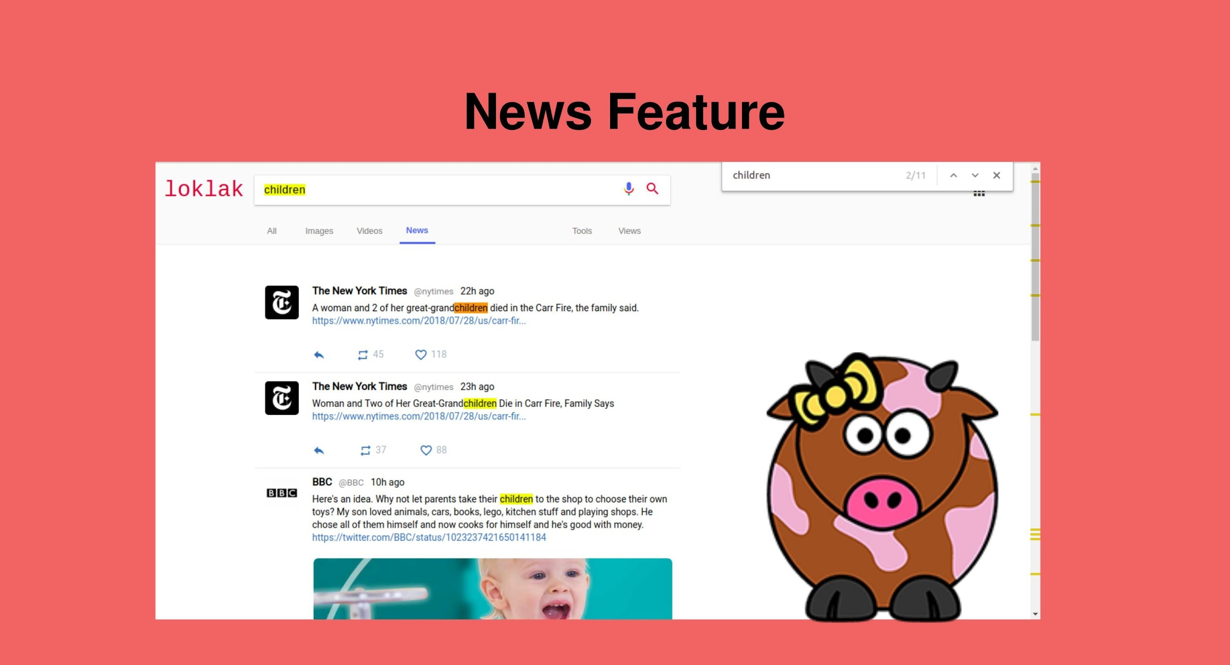 Implementing news feature in loklak
