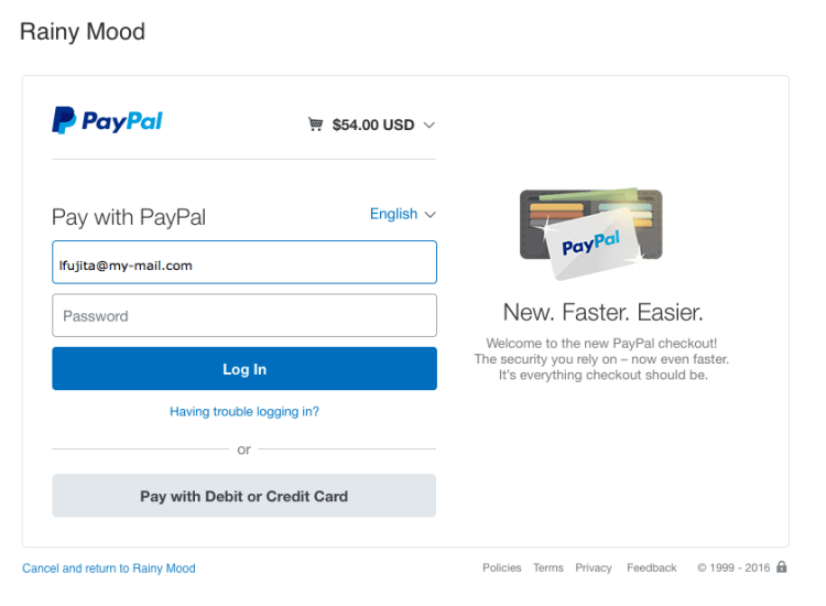 Adding Online Payment Support in Open Event Frontend via PayPal
