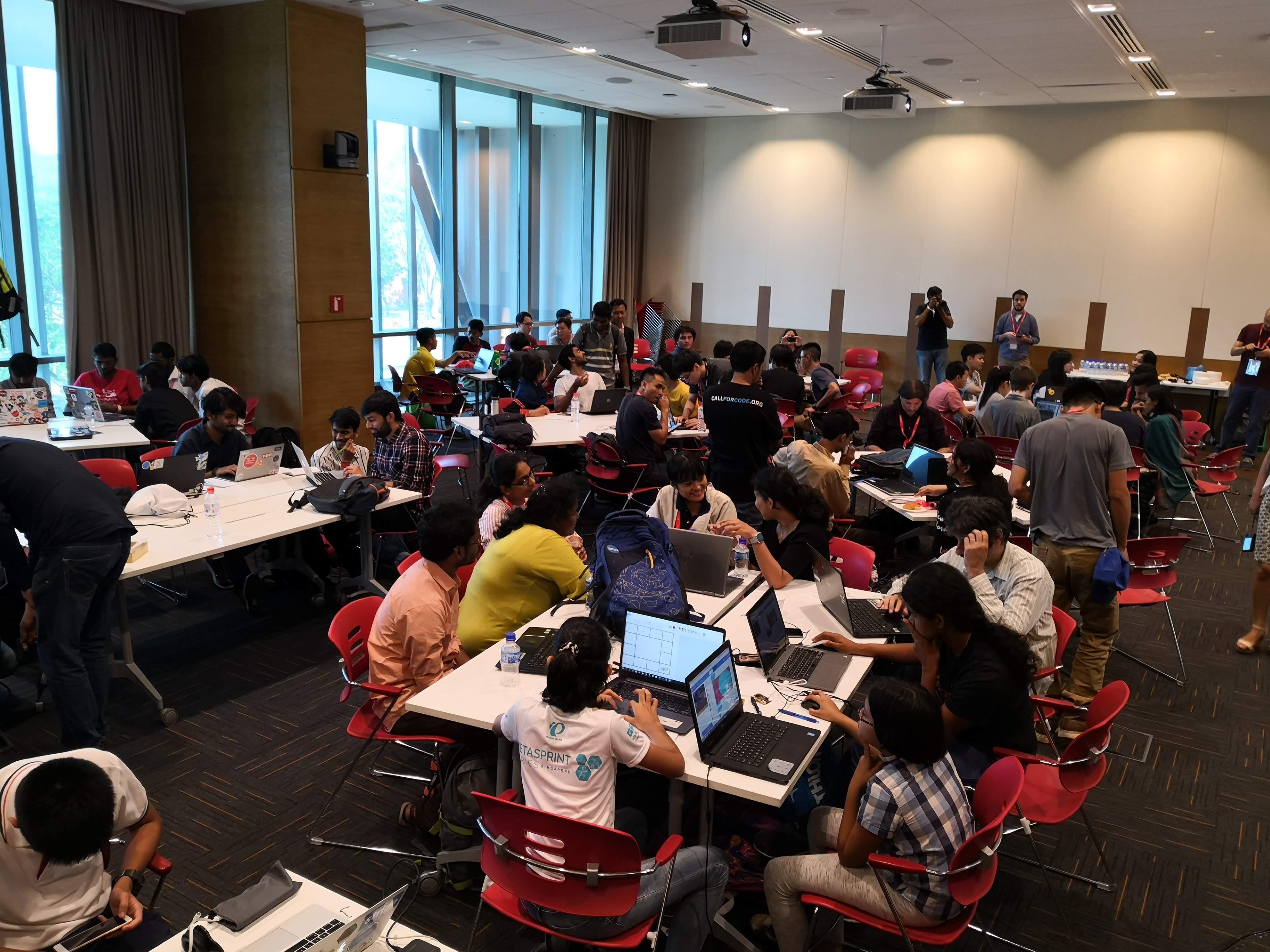 UNESCO Hackathon at FOSSASIA Summit 2019