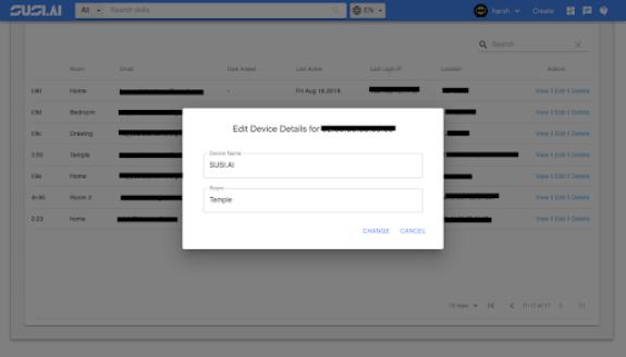 Edit Device Dialog